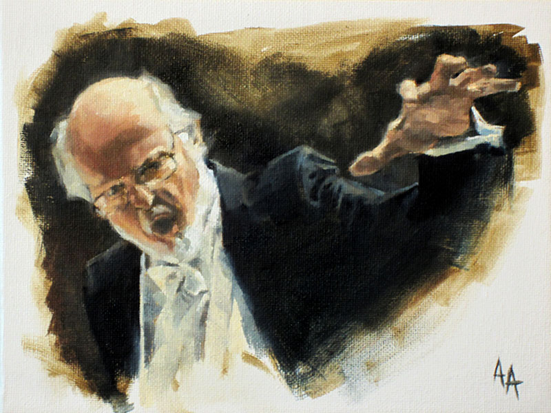 John Williams by AdamAntaloczy