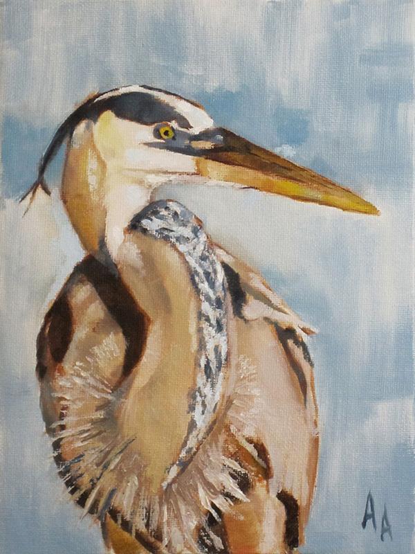 Heron by AdamAntaloczy