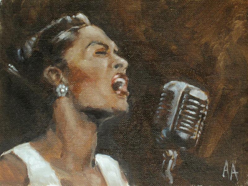 Billie Holiday by AdamAntaloczy