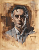 Jordan B Peterson (UPDATED) by AdamAntaloczy