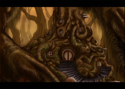 treehouse by DoctorDarkness
