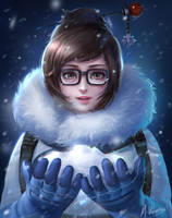 overwatch Mei by mvalentinus