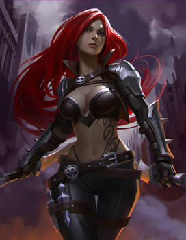 League of Legends fan art -Katarina