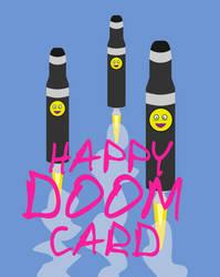 Happy Doom Card by khabs