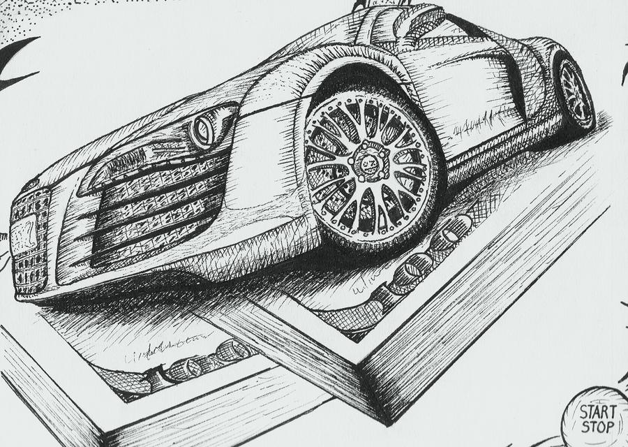 Audi R8 2d Design By Nguyendynasty On Deviantart