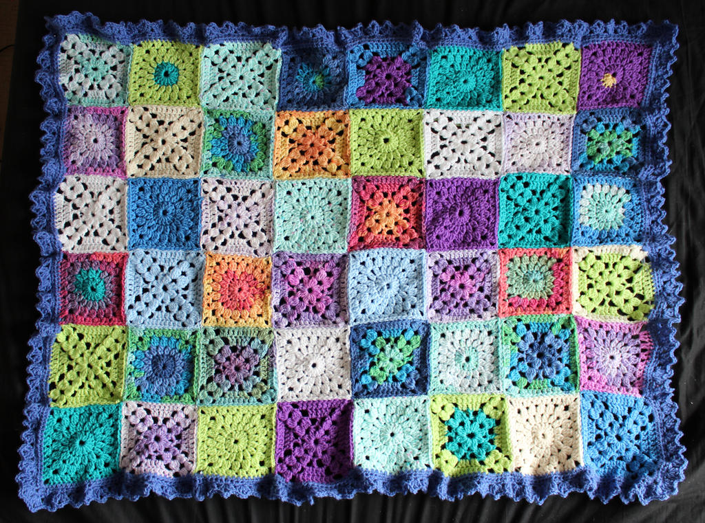 Baby Blanket no 2 by rosemaryjayne