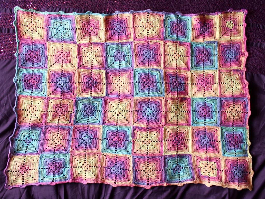Crochet Baby Blanket by rosemaryjayne