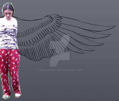 harpy costume WIP