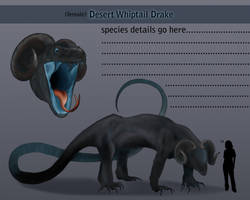 Desert Whiptail Drake WIP