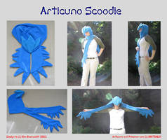 Articuno Scoodie Montage SOLD by SPPlushies