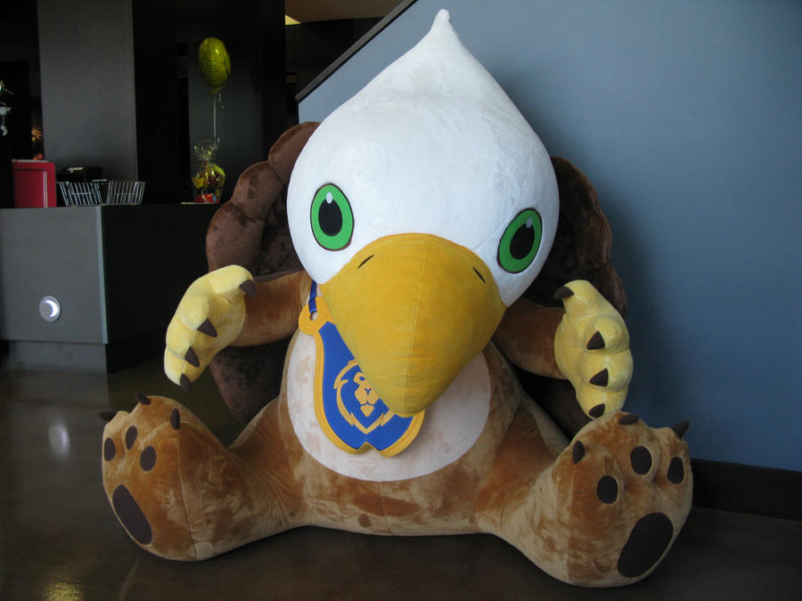blizzard's MASSIVE Griffin plushie by SPPlushies