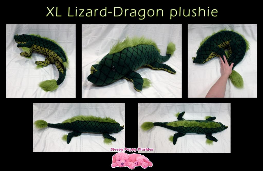 XL Lizard-Dragon Plushie by SPPlushies
