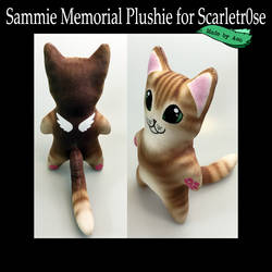 Sammie Memorial Plushie by SPPlushies