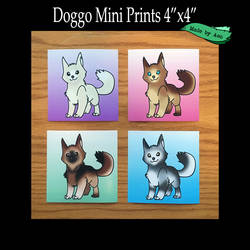 Doggo mini print bundle by SPPlushies