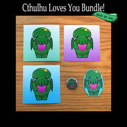 Cthulhu Loves You Bundle! by SPPlushies