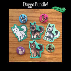 Doggo Bundle by SPPlushies