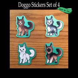 Doggo Stickers!