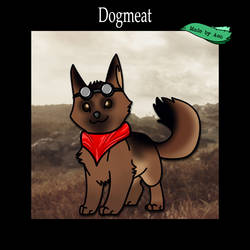 Dogmeat tweak of my dog design by SPPlushies