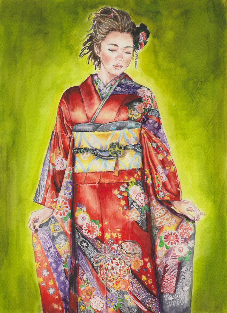 Japanese girl by angryskipper