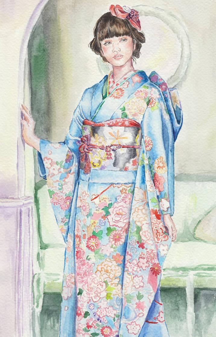 Japanese girl I by angryskipper
