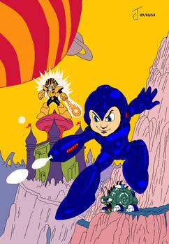 Megaman 4 IV Microsoft Paint
