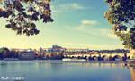 Prague bridge :)