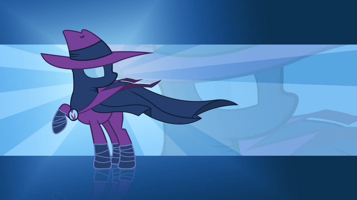 The Misterious Mare do well Wallpaper by Kyute-Kitsune