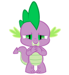 Spike is proud Vector