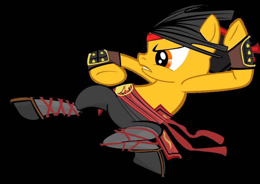 Liu Kang Pony Vector by Kyute-Kitsune