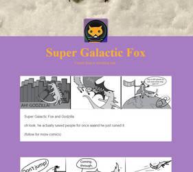 NEW SUPER GALACTIC FOX by mydragonzeatyou