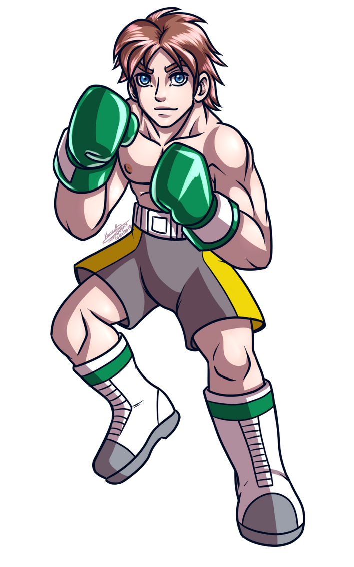 Derrick ready to fight by samusmmx