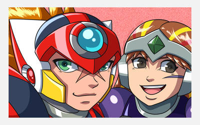 Axl and Hrist selfie by samusmmx