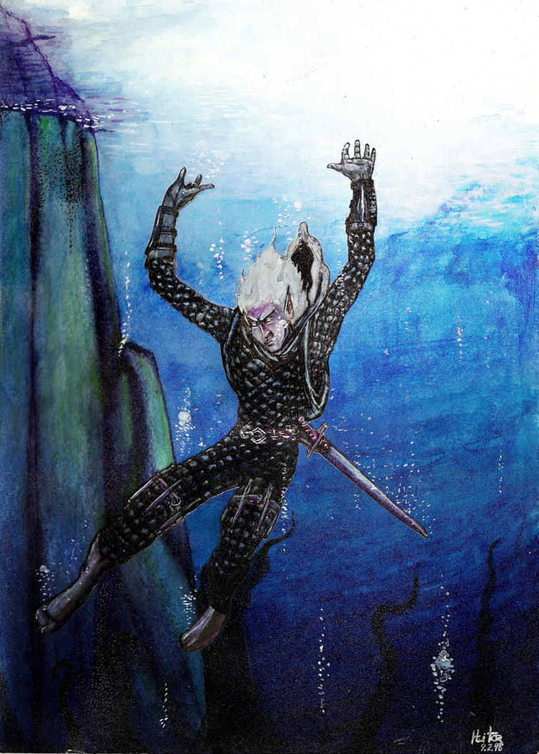 Ziroth Krisdel to the deep by Zacramandy