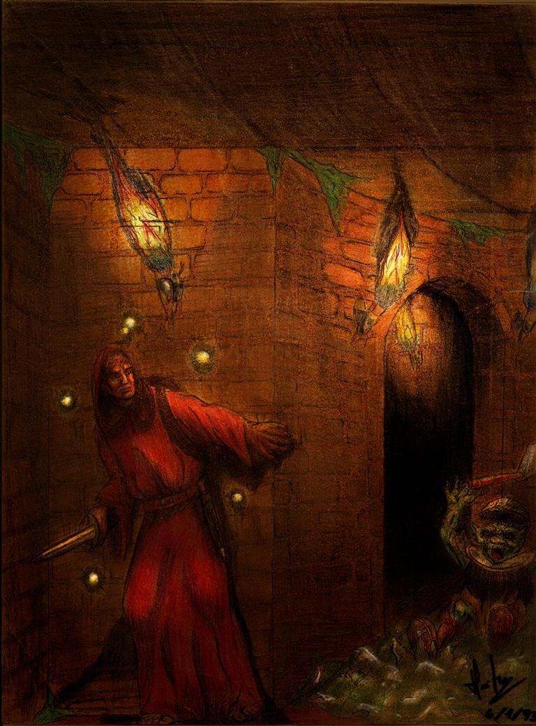 A magic user by Zacramandy