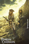 pirates  caribbean (MOVIE ) poster