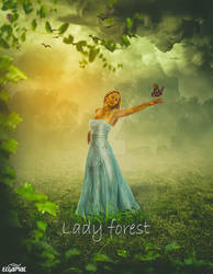Lady forest by MeDoElgAmaL