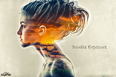 Double Exposure by MeDoElgAmaL