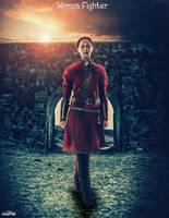 Woman Fighter by MeDoElgAmaL