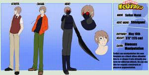 Seikei Matoi - Ref Sheet  Commission by Snowwolf213