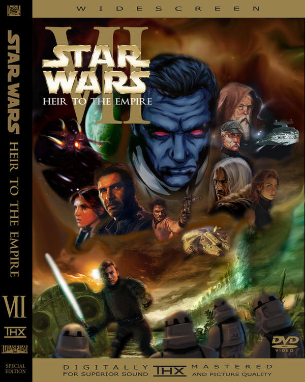 Star Wars Episode VII DVD Case by Scanders411