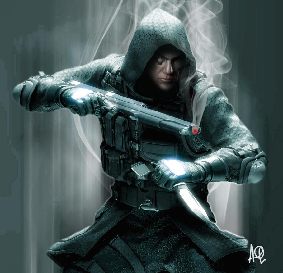 Imperial Sniper Sinbiont by adamqd