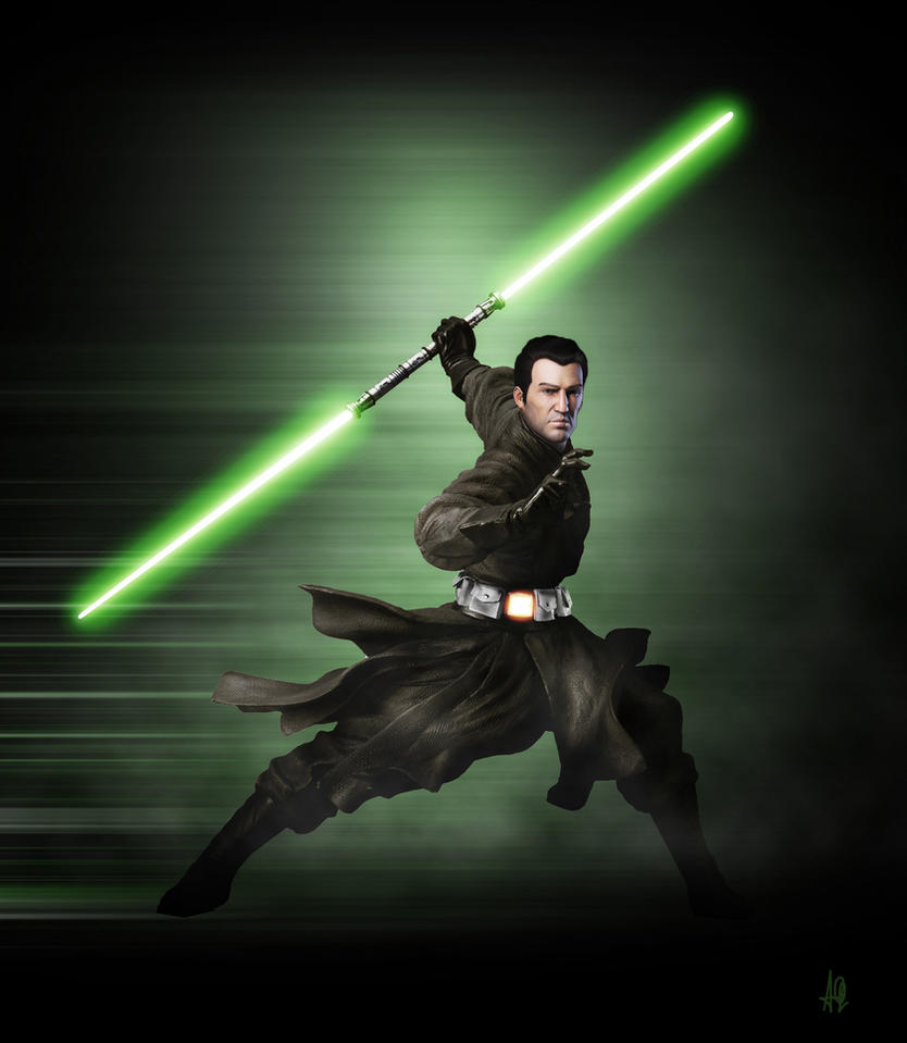Jedi Shadow by adamqd