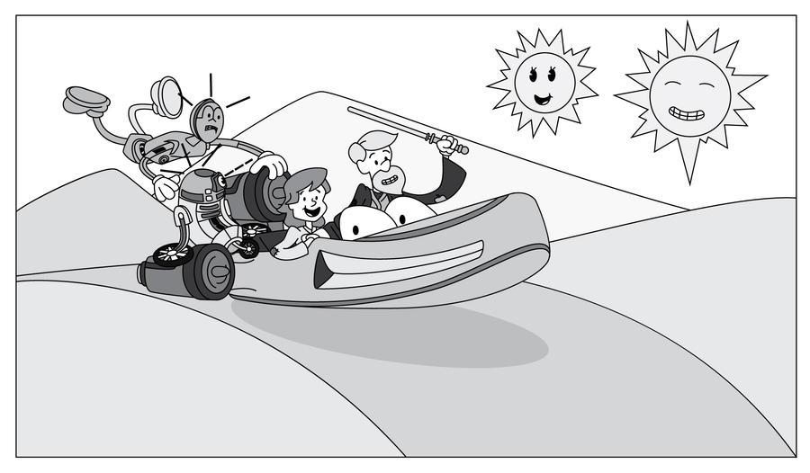 SW1930's - Cruising in the land speeder by JK-Antwon