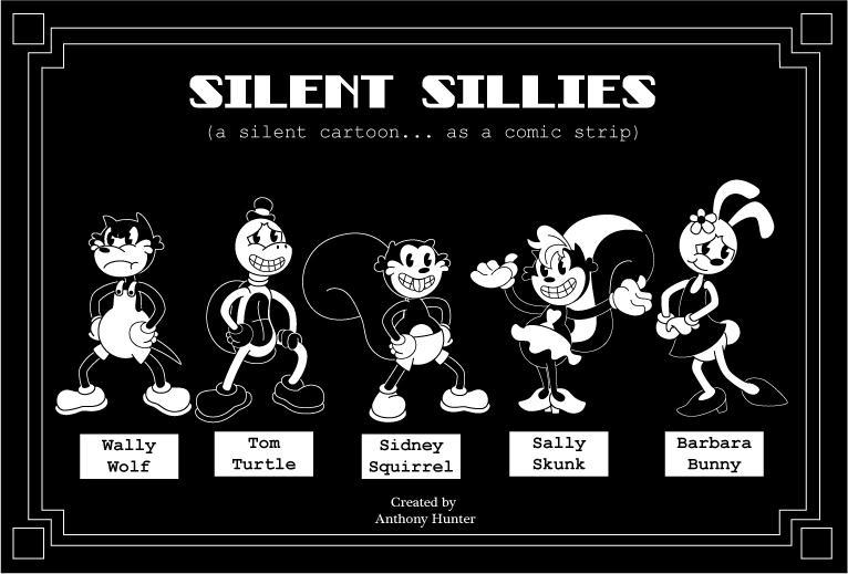 Silent Sillies Cast