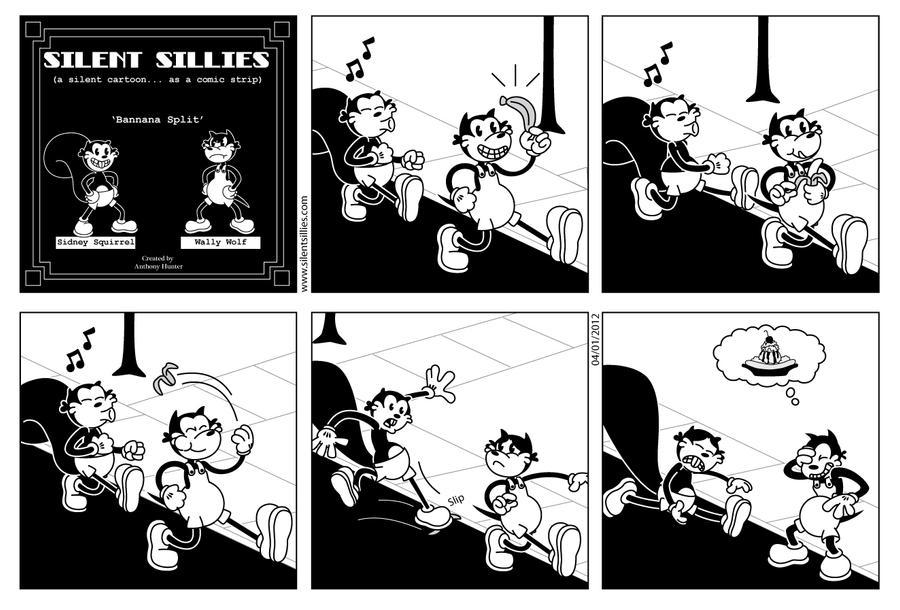 Silent Sillies 006 - Banana Split by JK-Antwon