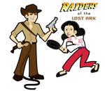 Raiders Retro Toon