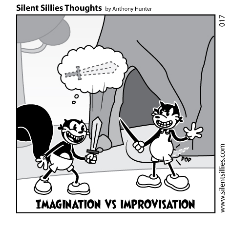 Silent Sillies Thoughts 017 by JK-Antwon