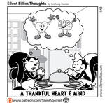 Silent Sillies Thoughts 043 - Thanks