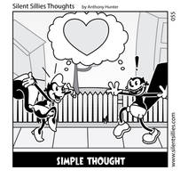 Silent Sillies Thoughts 055 by JK-Antwon