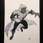 Inktober - Batman Mask of the Phantasm